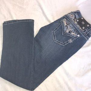 Women's bootcut Miss me jeans